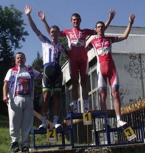 Stefan Stefanović i Marko Danilović na pobedničkom postolju (2)