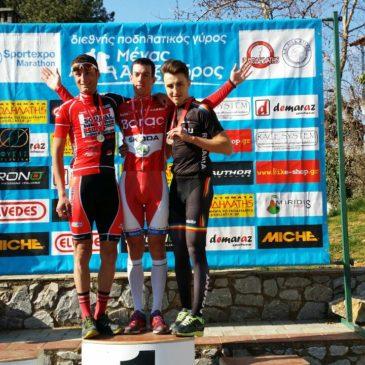 "Četiri pobede biciklista Borca na trci ""Aleksandar veliki"" u Grčkoj"