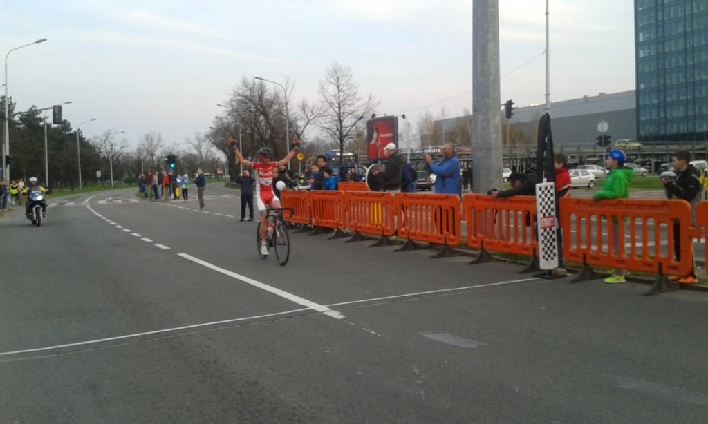Marko Danilovic prolazi kroz cilj