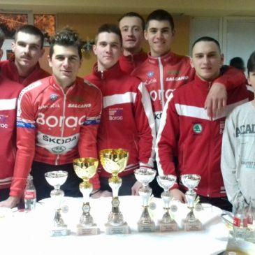 Tri medalje za bicikliste Borca na prvenstvu Srbije u ciklo krosu
