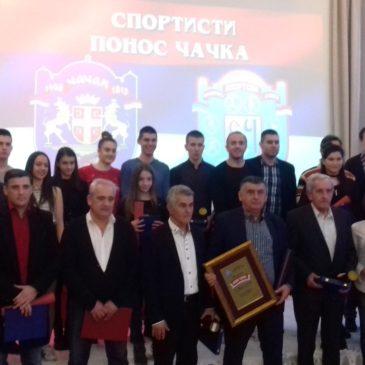 U izboru najboljih sportista grada Čačka tri priznanja  za biciklistički klub Borac