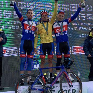 Dvostruka pobeda biciklista Borca na trci u Kini