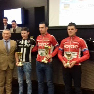 Priznanja biciklistima Borca na kraju 2018.godine