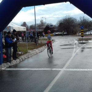 Poletarc Matija Pekovic pobedjuje svoju trku