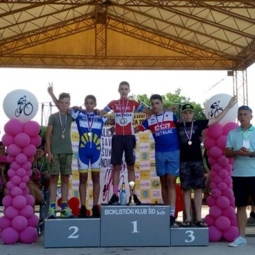 Pobeda Boška Veličića na biciklističkom Kupu Srbije u Šidu