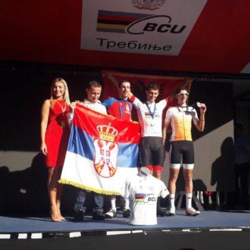 Marko Danilović osvojio vicešampionsku titulu na prvenstvu Balkana u biciklizmu