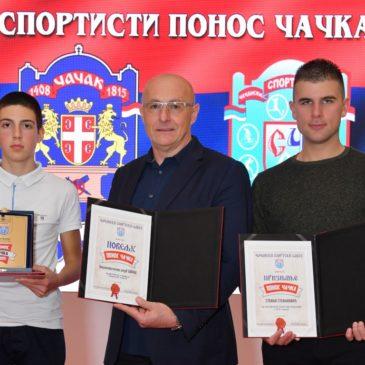 Biciklistima Borca i ove godine priznanja na proglašenju najuspešnijih u izboru čačanskog sportskog saveza