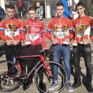 Biciklisti Borca primili trofeje za prošlogodišnji kup Srbije