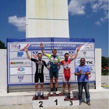 Na Kupu Beograda biciklisti Borca osvojili dva treća mesta