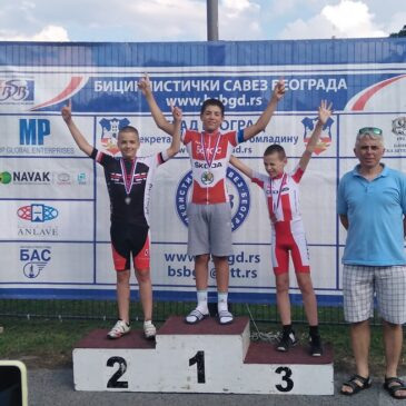 Više drugih mesta za bicikliste Borca na drugom Kupu Srbije