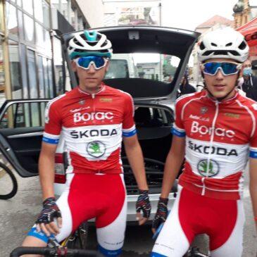 Četiri titule Prvaka Srbije za bicikliste Borca