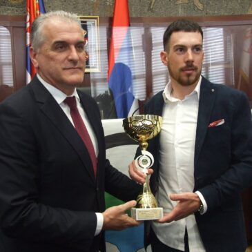Marko Danilović proglašen sportistom grada Čačka za 2020.god. u izboru udruženja sportskih novinara Čačka