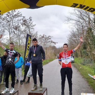 Tri pojedinačne i dve ekipne medalje na prvom biciklističkom kupu srbije u novoj sezoni