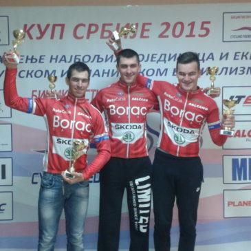 Tri medalje na prvenstvu Srbije u ciklo krosu