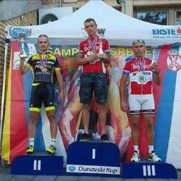 "Veteran ""Borca"" Miroslav Bogdanović dvostruki prvak Srbije u kategoriji masters"