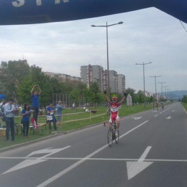 Pobeda Dejana Cogoljevića na biciklističkom kupu Srbije u Novom Sadu