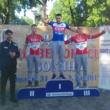 Nove medalje za bicikliste Borca na Kupu Srbije u Odžacima