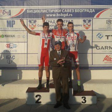 Dejan Cogoljević i Boško Veličić pobednici otvorenog prvenstva Beograda u biciklizmu