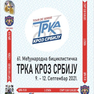 Trka kroz Srbiju 9-12 septembar 2021.